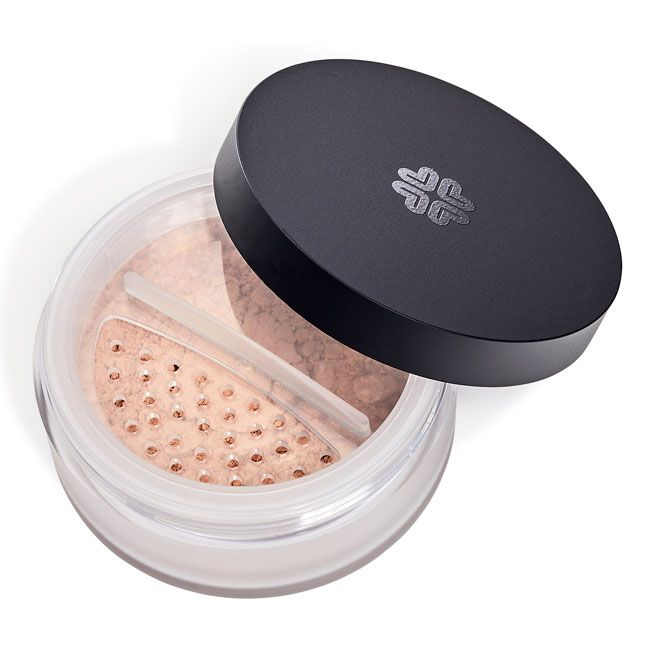 Lily Lolo Finishing Powder:  Gluten Free. Vegan. A silky soft, delicate light diffusing powder which sets your makeup in place providing extra staying power. Our Finishing Powder instantly minimises fine lines and imperfections with a lightweight texture