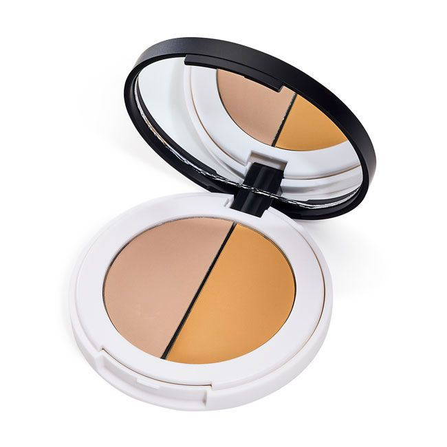 Lily Lolo Prime Focus Eyelid Primer; Vegan, Gluten Free. Natural and creamy eye primer to help conceal and correct discolouration and dark areas around the eyes while providing the perfect base to apply your eye shadow for extra staying power.
