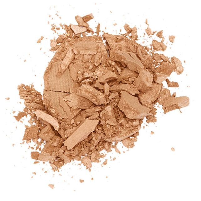 Lily Lolo Bronzed Illuminator. Gluten Free. Vegan. GMO Free. This illuminator is an ultra-soft light reflective powder that can be applied on the top of your cheekbones, shoulders and décolletage.