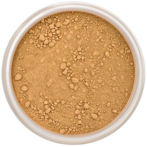 Lily Lolo Cinnamon Mineral Foundation: Gluten free, vegan. A deep foundation shade with yellow undertones.