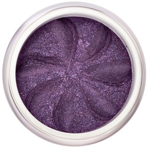 Lily Lolo Deep Purple Eyes: Vegan Friendly, Gluten Free. A shimmery deep purple mineral eyeshadow.