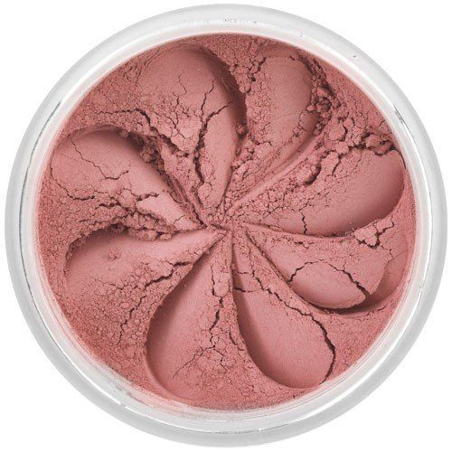 Lily Lolo Flushed Blush: Gluten free. Deep and dusky rose pink blush, perfect for all skin tones, with a matte finish. Flushed is perfect for enhancing your natural flush as it's an incredibly soft and natural shade.