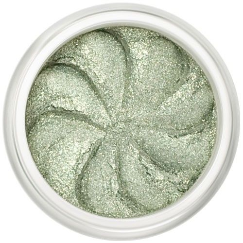 Lily Lolo Green Opal Eyes: Vegan Friendly, Gluten Free. A gorgeous shimmery pale green.