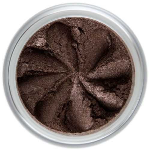 Lily Lolo Moonlight Eyes: Vegan Friendly, Gluten Free. A rich, luxurious and glistening chocolate brown eyeshadow, perfect for adding depth or makes a stunning eye liner.