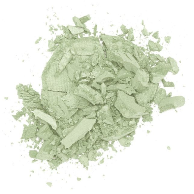 Lily Lolo Pistachio Pressed Corrector - Gluten Free. Vegan. GMO Free. Green-hued Pistachio neutralises redness, from rosacea to blemishes and acne