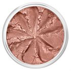 Lily Lolo Goddess Blush: Gluten free. Light coral pink with a golden shimmer.