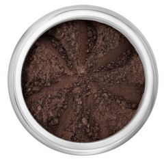 Lily Lolo Black Sand Eyes: Gluten Free. Matte darkest brown is a highly pigmented mineral eye shadow for a long lasting and durable finish. Create sheer or intense washes of colour, with shades which work both wet and dry.