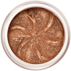 Lily Lolo Bronze Sparkle Eyes: Vegan Friendly, Gluten Free. A rich shimmery bronze mineral eyeshadow.