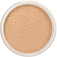 Lily Lolo Cookie Mineral Foundation: Gluten free, vegan.  A medium foundation shade with balanced undertones.