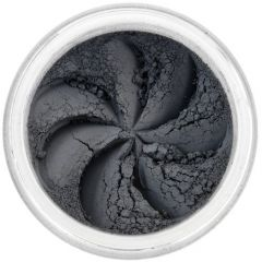 Lily Lolo Greyzie Daze Eyes: Vegan Friendly, Gluten Free. A deep bluey grey eyeshadow with a matte finish. Perfect for adding depth to the sockets in the outer corners and makes a fabulous eyeline when applied wet. A great shade for smoky eyes.