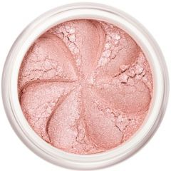 Lily Lolo Pink Champagne Eye: Vegan Friendly, Gluten Free. A subtle pink mineral eyeshadow with a hint of shimmer.